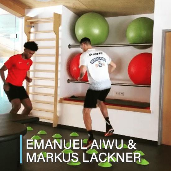 alinus Trainingssequenz von Emanuel Aiwu und Markus Lackner