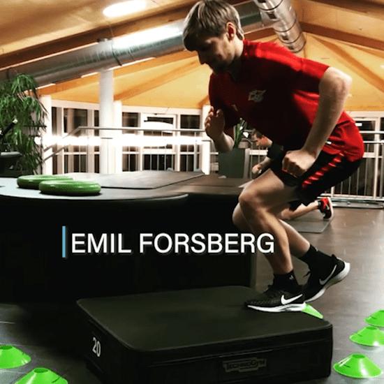 alinus Trainingssequenz von Emil Forsberg