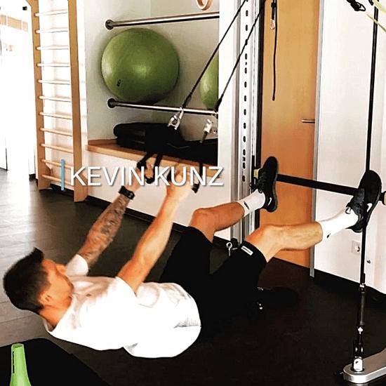 Kevin Kunz - Training im alinus Institut